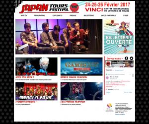 Site pour le Japan Tours Festival