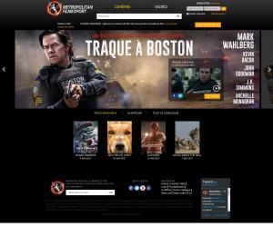 Site catalogue de Metropolitan FilmExport